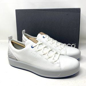ECCO Men's Sneakers GOLF SOFT SHOES All White